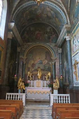 Bild: Seitenaltar Notre Dame des Doms, Avignon