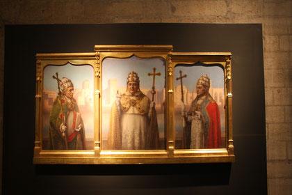 Bild: Avignon, Papstpalast, Bilder der Päpste