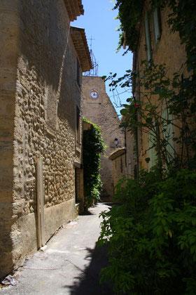 Bild: Straße in Ansouis