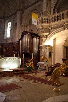 Bild: Chor-Orgel