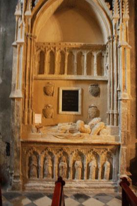 Bild: Sépulture de Benoit XII Pape de 1334 à 1342, Avignon