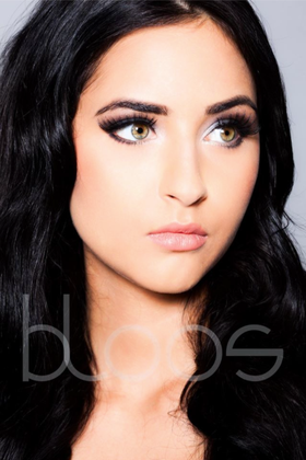 Make-up & Hair: Azzurra M. Model: Hascha c/o JAVA Models Foto: Markus Thiel, bloos Make-up & Hair Academy