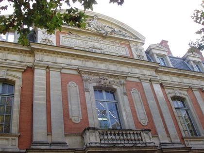La Faculté des Sciences de Toulouse, allées Jules Guesde