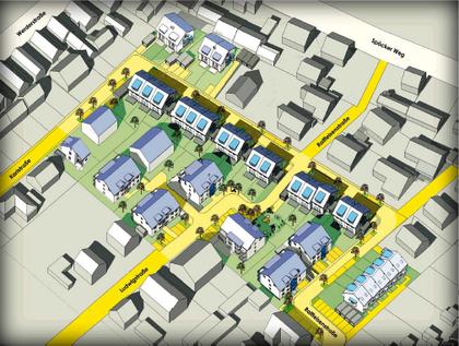 1. Preis beim Städtebau-Wettbewerb des PAMINA-Raumes