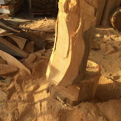 Allgäu-Carving by Martina Gast - Schnitzen mit der Motorsäge