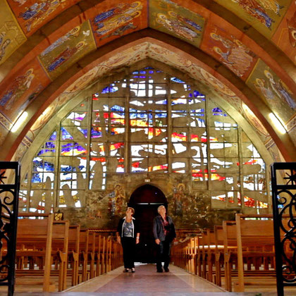 Eglise d'Alban Fresques  de Greschny