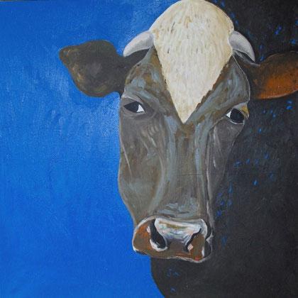 Huile sur toile.80x80 cm.2010.