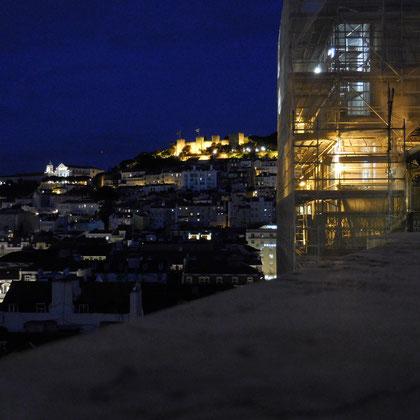 Blick auf das Castelo de Sào Jorge