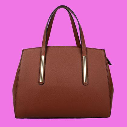 braunde Handtasche , Ipad Größe , kurvenreiche Shoppingqueen