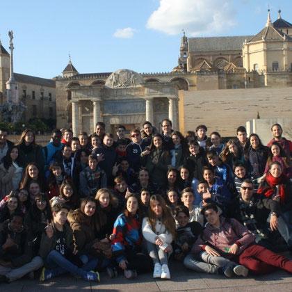 En el Puente Romano de Córdoba.