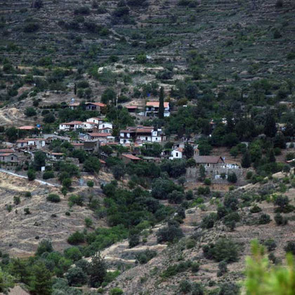 Lazanias from above Machairas