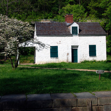 Lock-keepers house, C&O canal