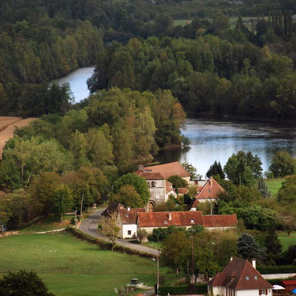 Dordogne at Pauliac