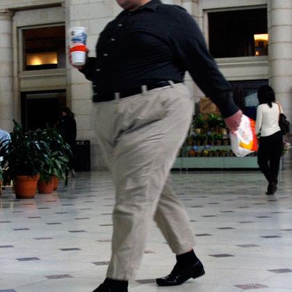 Man, Union Station