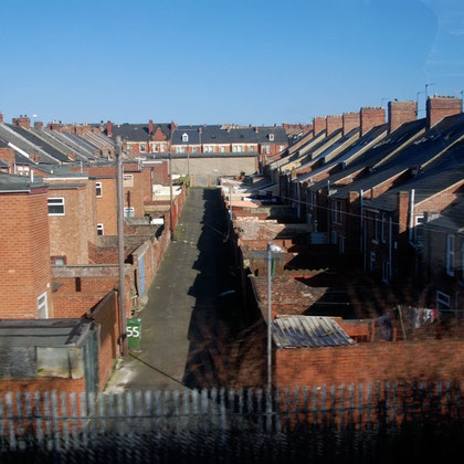 Terraced streets, Gateshead