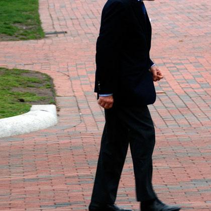 Man, near White House