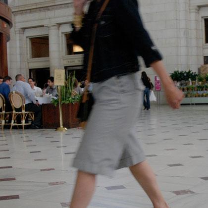 Woman, Union Station