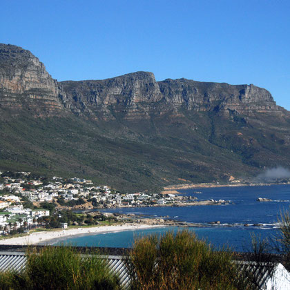 Looking south towards Bakoven from Camps Bay