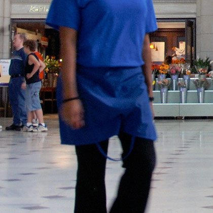 Woman, Union Station