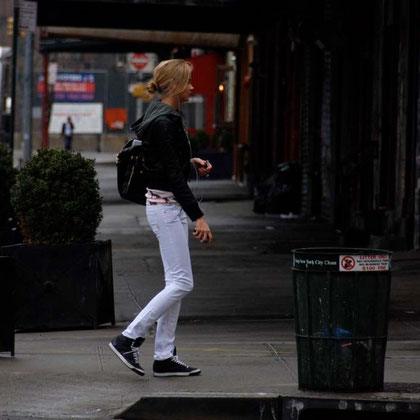 Young woman in the Meatpacking District