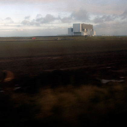 The Torness Nuclear Power Station commissioned in 1988 and expected to run to 2023. in 1978 4,000 people marched from Dunbar to occupy the site to protest its construction