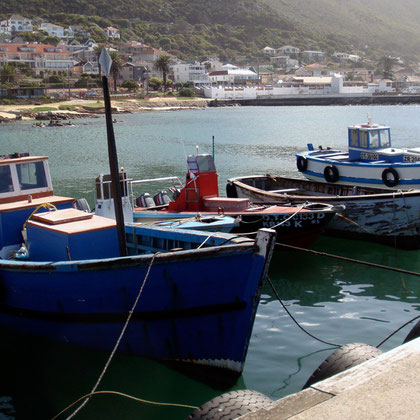 Fishing Boats at Kalk Bay (c) Peg Murray Evans