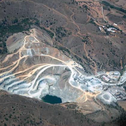 Mine east of Mosfiloti