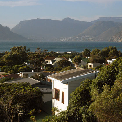 View north to Hout Bay from Kommetjie