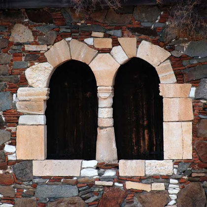 Window, Katsinioros House, Fikardou