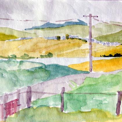 Arenig Fawr and the Prysor Valley, Trawsfynydd