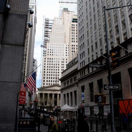 Near Wall Street