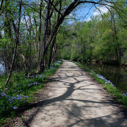 The C&O cana tow-path