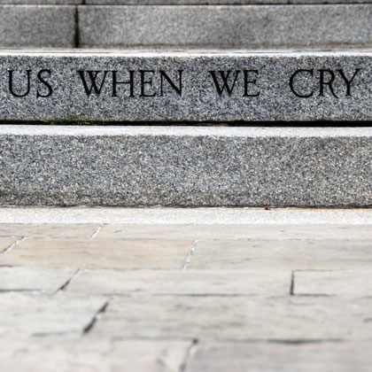 'Here us when we cry to thee' at US Navy Memorial