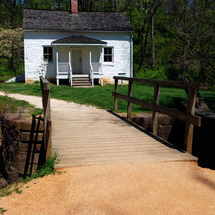 Lock-keeper's house on the C&O canal