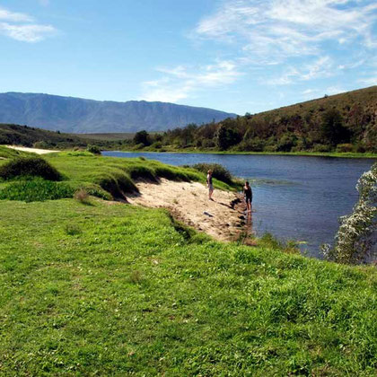 Breede River in the Bontebok