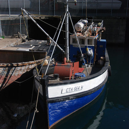 Fishing boat in the Alfred Basin, Cape Town harbour