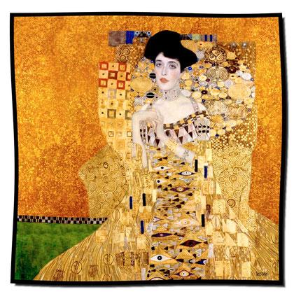 Artikel Nr. 1004 Adele gold (100 x 100 cm)