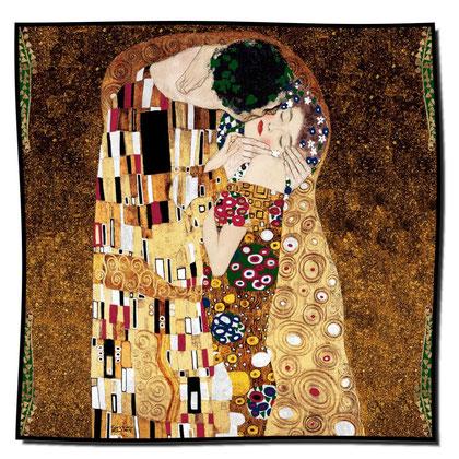 Artikel Nr. 1002 Der Kuss II (90 x 90 cm)