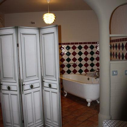 Salle de bain - Chambre 1 Bed in Bellongue