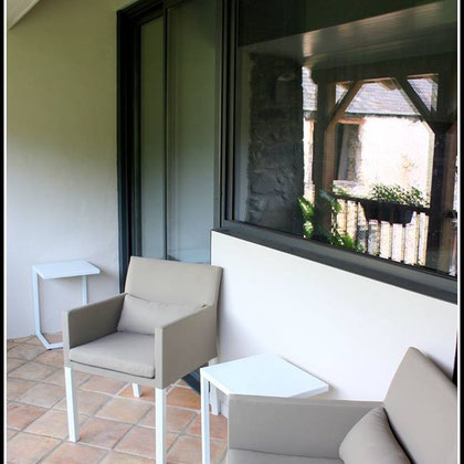 Balcon - Chambre 3 Bed in Bellongue