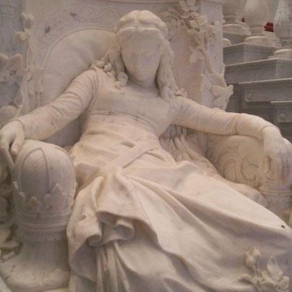 La bella durmiente. Louis Sußmann-Hellborn 1828- 1908.