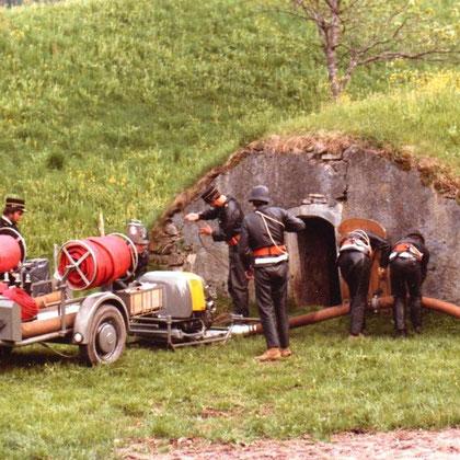 dto mit Sooler Motorspritze Typ II