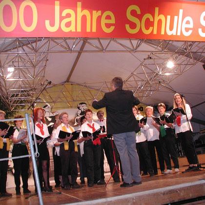 Der Sooler Chor in Aktion