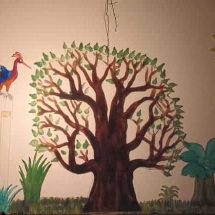 Regenbaumvogel