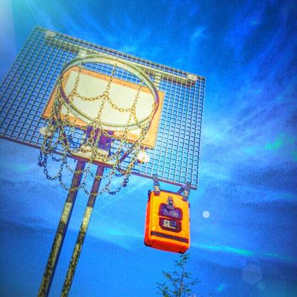 Action cam bag GIPFLbag Kameratasche Fototasche Rucksack bagpack basketball