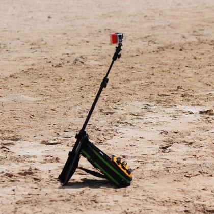 Action cam bag GIPFLbag Kameratasche Fototasche Rucksack bagpack tripod stativ pole