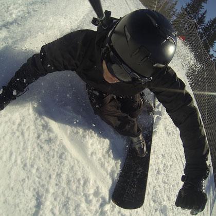 Action cam bag GIPFLbag Kameratasche Fototasche Rucksack bagpack snowboard birdview
