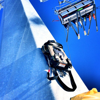 Action cam bag GIPFLbag Kameratasche Fototasche Rucksack bagpack ski snowboard list magnetisch