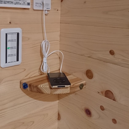 可愛いクリスタルキャップで仕上げるミニミニ造作棚