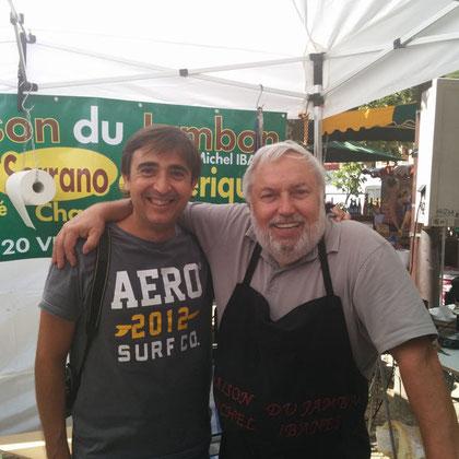 Antoine de Caminreal Salon gourmet a LA ROQUE GAGEAC UN ESPAGNOL DE CALAMOCHA